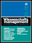 wissenschaftsmanagement Ausgabe 3/2015