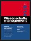 wissenschaftsmanagement Ausgabe 5/2014