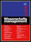 Wissenschaftsmanagement Ausgabe 5/6/2017