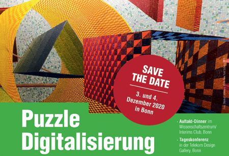 Save the date: Puzzle Digitalisierung