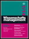 Wissenschaftsmanagement Ausgabe 1/2014