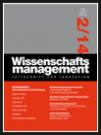Wissenschaftsmanagement Ausgabe 2/2014