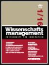 Wissenschaftsmanagement Ausgabe 1/2016