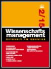 Wissenschaftsmanagement Ausgabe 2/2015