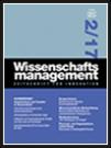 Wissenschaftsmanagement Ausgabe 2/2017