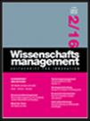 Wissenschaftsmanagement Ausgabe 2/2016