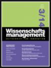 Wissenschaftsmanagement Ausgabe 3/2014