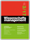 Wissenschaftsmanagement Ausgabe 3/2017