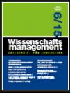 Wissenschaftsmanagement Ausgabe 6/2015